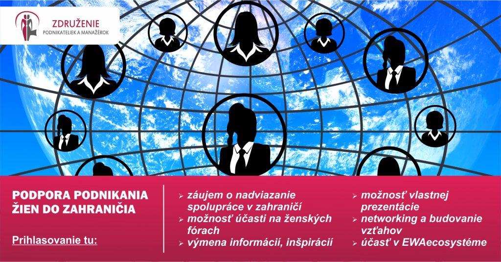 Podpora podnikania žien v zahraničí