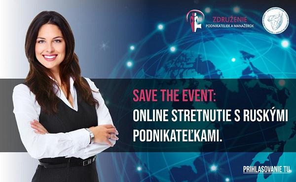 Online B2B stretnutie s ruskými podnikateľkami