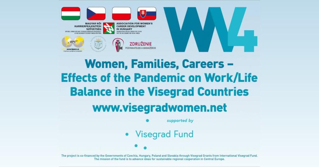 PROJEKT:  Ženy, rodina, kariéra – Dopady pandémie na oblasť rovnováhy  pracovného a súkromného života.